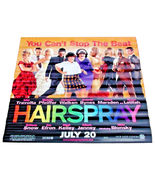2007 HAIRSPRAY Original Movie Vinyl Theater Banner 48x48  (12) - $49.99