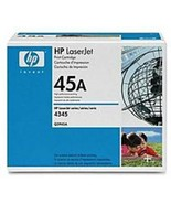 HP Q5945A Black Print Cartridge for Laserjet M4345 MFP - 18000 Pages - $294.11