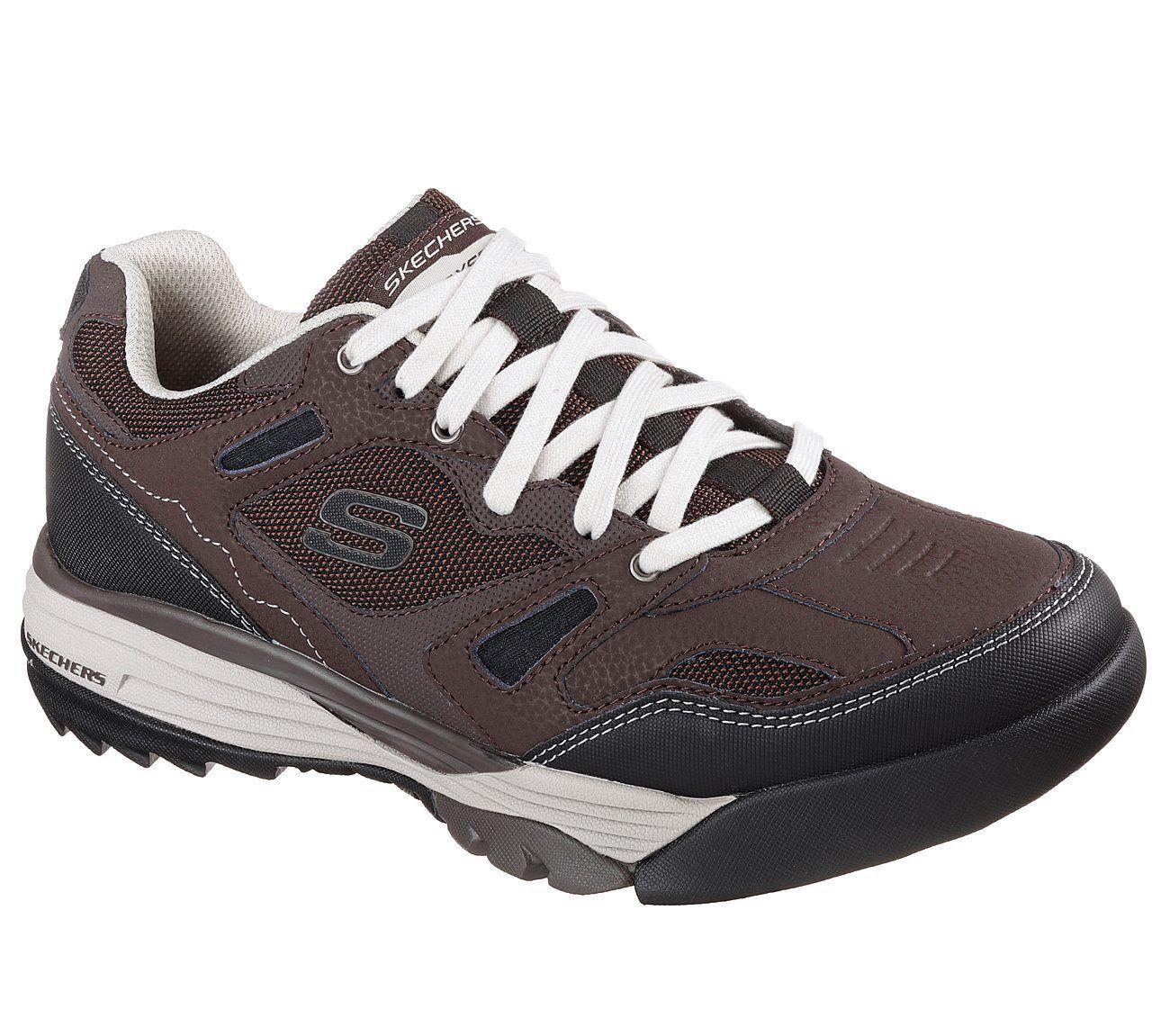 51800 Brown Skechers shoes Men Memory Foam Sport Train Comfort Casual Trail Hike