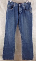 "Woman's Classic Silver Jeans Button Fly Stone Wash Bootcut 10"" Rise 29/32 - $8.80"