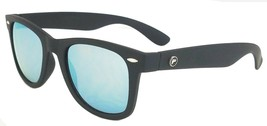 Forecast Sample Ziggie Sunglasses, Matte Black Frame, Blue Grey Mirror Lens - $16.99