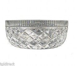 """Vintage Waterford Crystal Bowl Diamond Pattern 8"""" Wide Decorative Accent... - $149.99"""