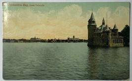 Old Divided Back Souvenir Postcard Alexandria Bay, 1000 Islands Used 1909  - $19.55
