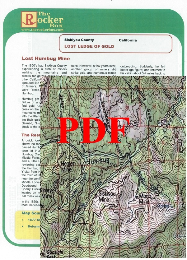 Lost Humbug Mine of Siskiyou County, California - PDF