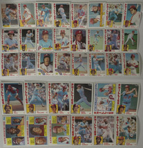 1984 Topps Philadelphia Phillies Team Set of 36 Baseball Cards - $7.49