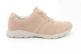 Dansko  Allisa Milled Nubuck Sneakers Comfort  Taupe Size  38() 5886 - $90.00