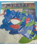 Vacation Shapes Cut Outs Self-Adhesive Acid-Free Scrapbook Decorating - $9.95