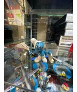 Smurfs Poet Original 20022 Writer Feather SCHLEICH Vintage Smurf Figure Toy - $9.85