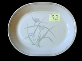 Corelle Platter SPRING POND Oval Serving Platter 12 inch - $15.83