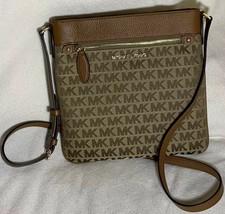 michael kors handbag crossbody Brown new with tag.mk - $58.45