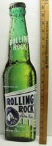 Latrobe Brewing Co Rolling Rock Replica Metal 21 Inch Bottle Sign NEW - $34.95