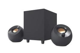 Creative Pebble Plus 2.1 USB-Powered Desktop Speakers Black With Subwoofer - $34.19