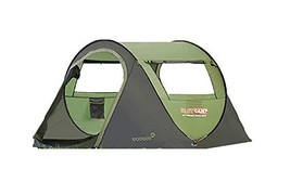 Fast Camp Basic 3 Large 3 Person Automatic Instant Outdoor Camping Tent Easy Ins