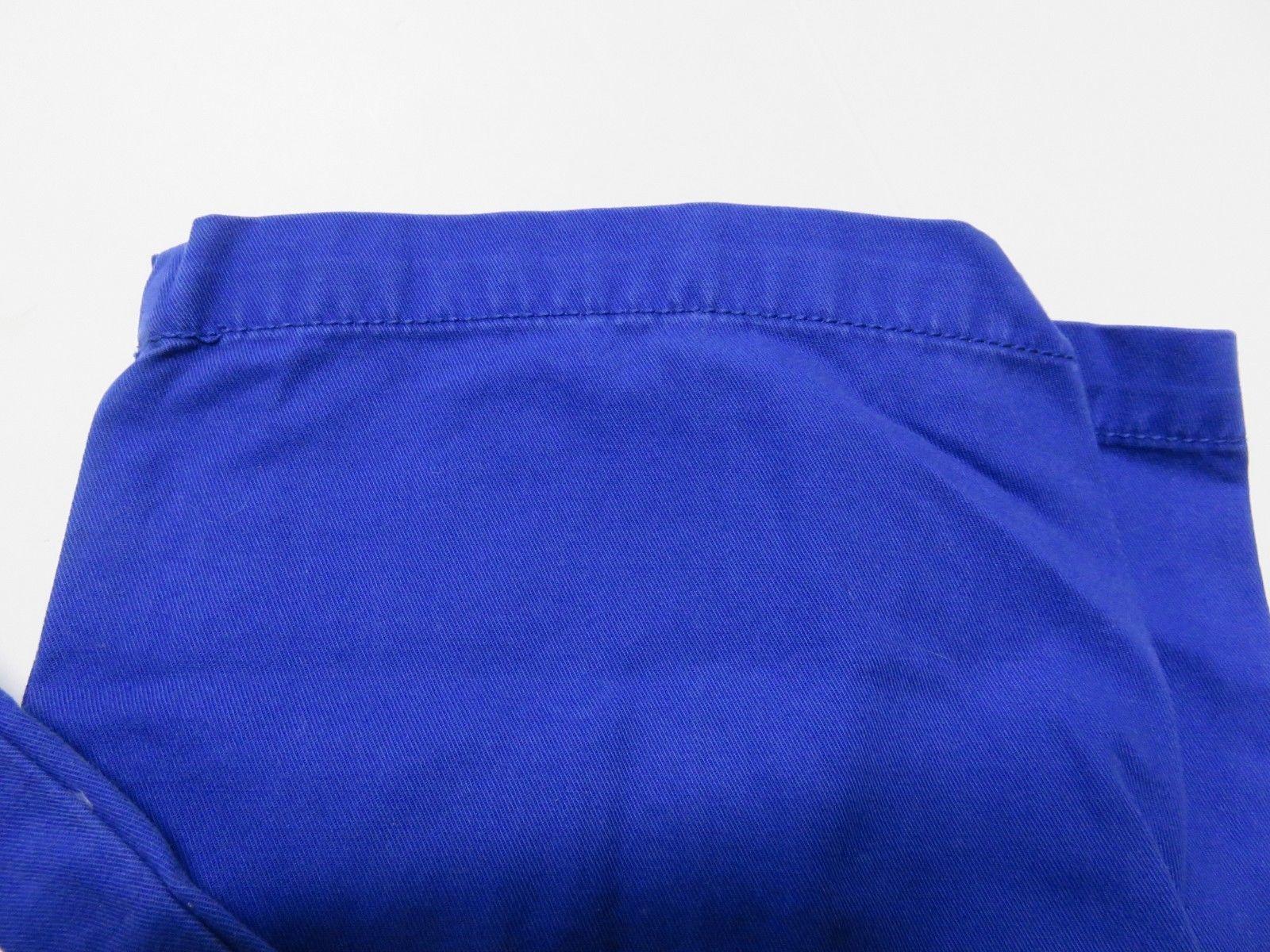 NOS w/ TAGS IZOD Saltwater Mazarine Blue Men's Straight Fit Pants Size W34 L29 image 3