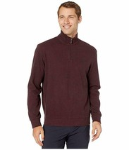 New Mens POLO Ralph Lauren 1/4 Zip Cashmere Touch Pullover Size L Wine M... - $60.57