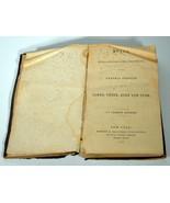 1865 Antique Religious Book General Epistles James Peter John Jude A. Ba... - $28.49