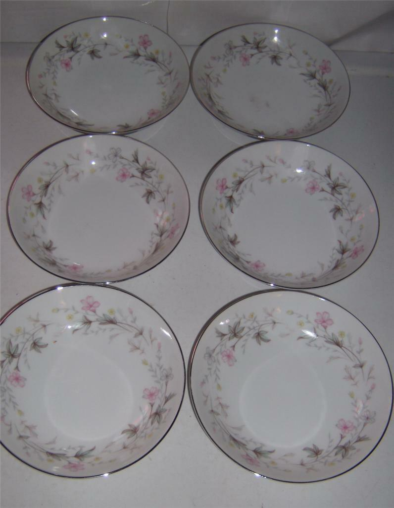 "Primary image for Wentworth Fine China ""Priscilla 1514"" Fruit Dessert Sauce Bowls (6) Japan"