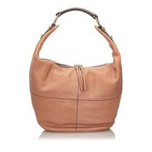 Pre-Loved Celine Pink Others Leather Shoulder Bag Italy - $580.96