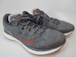 Saucony Freedom ISO Women's Running Shoes Size US 8 M (B) EU 39 Grey S10355-30