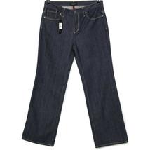 Talbots Womens Flare Jeans Size 12 X 32 Dark Stretch - $64.30