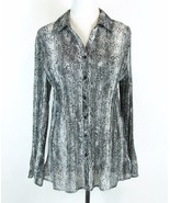 LANE BRYANT Size 18W/20W Pleated Blouse Button-Front Top ** - $19.99