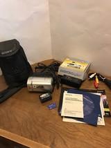 Sony Model: DCR-SR46 Handycam Hybrid HDD 40GB 40X Optical Zoom Case, Bundle - $150.00