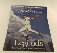 NEW YORK POST--THE YANKEES CENTURY PART 3: A TRADITION OF EXCELLENCE  - $5.35