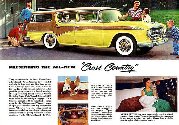 Primary image for 1956 Rambler Cross Country - Promotional Advertising Poster