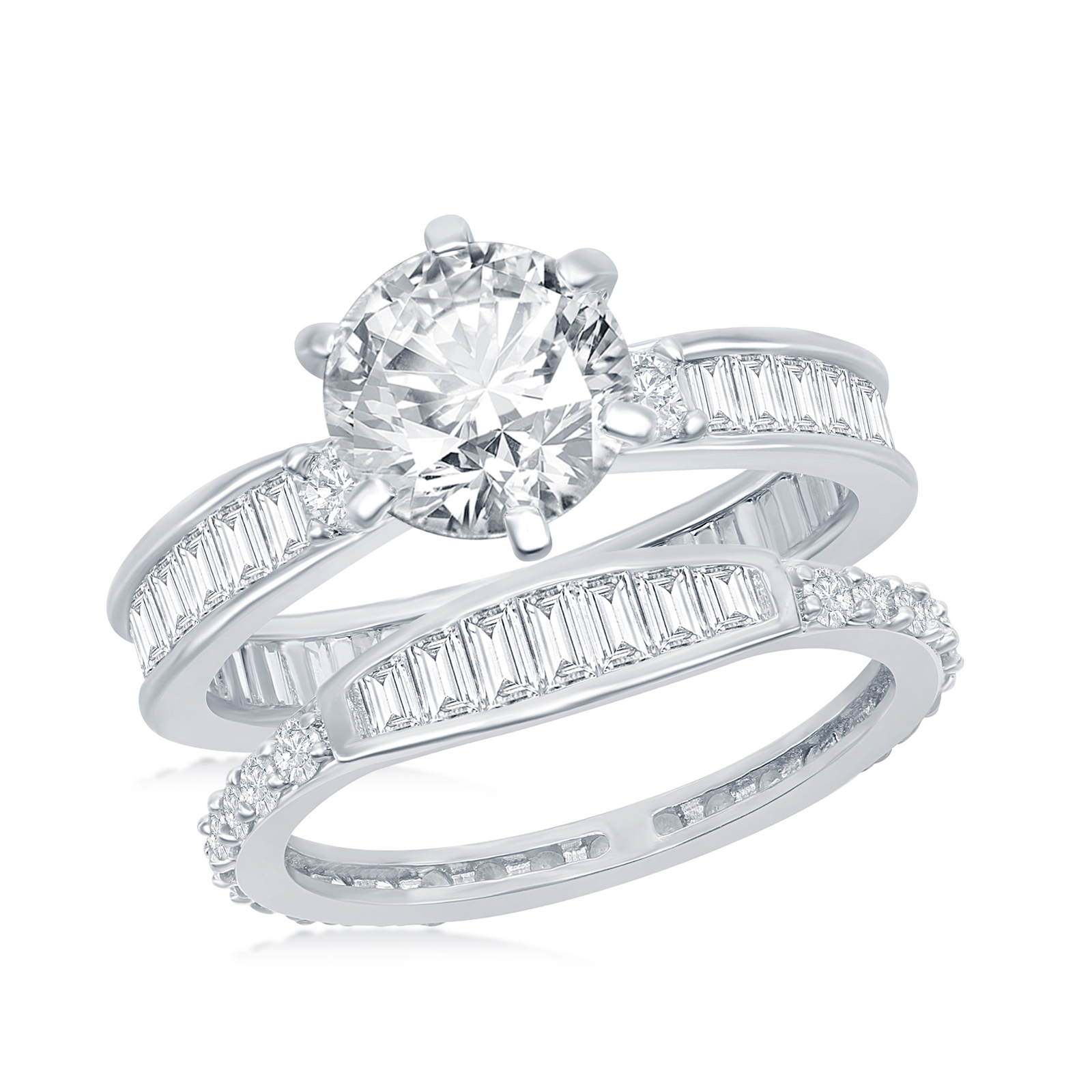 Primary image for  Women's .925 Silver Wedding set