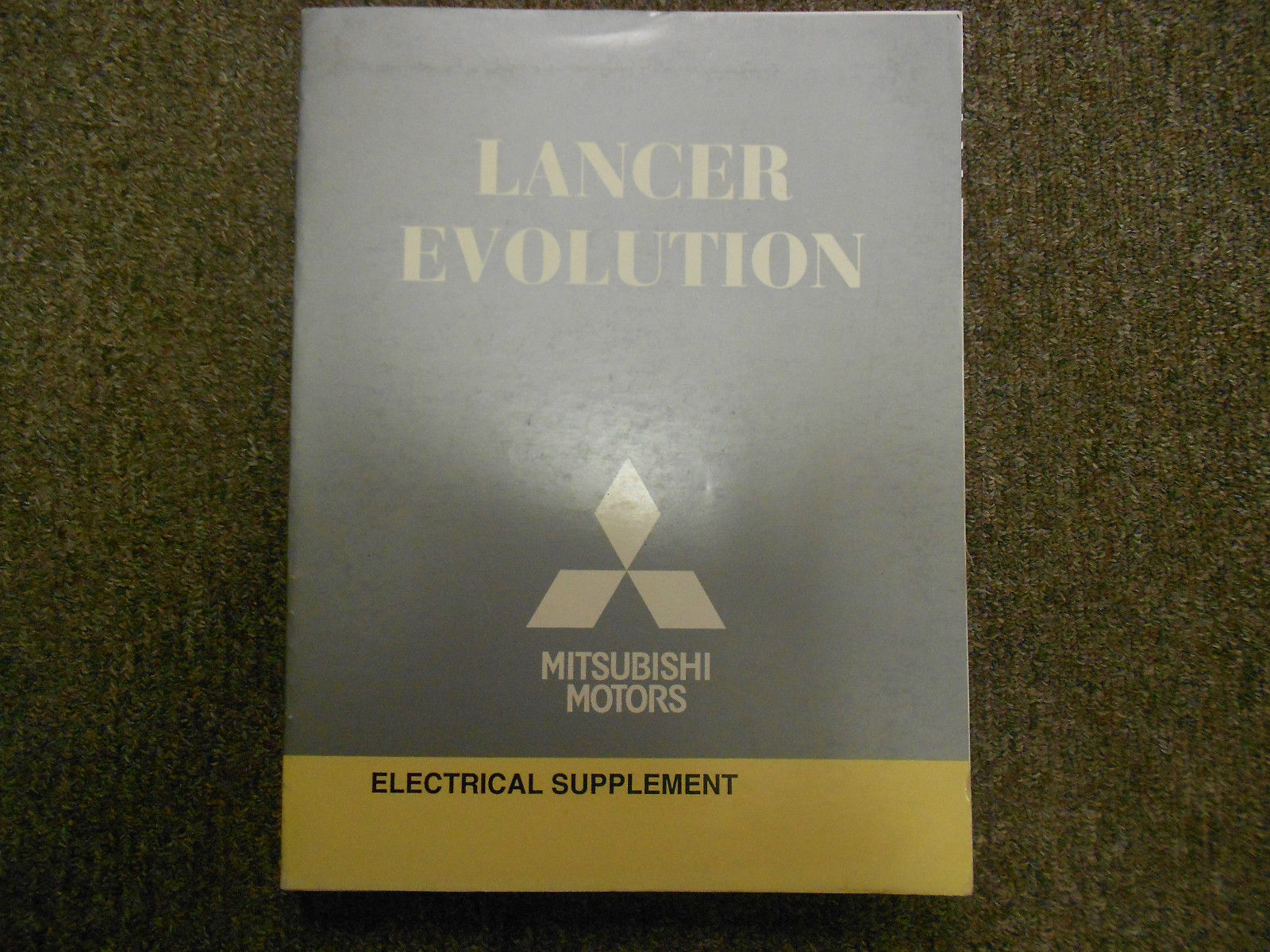 2008 MITSUBISHI Lancer Evolution Electrical Supplement Service Repair Manual OEM