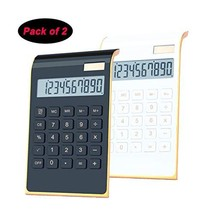 Desktop Calculator, BESTWYA 10-Digit Dual Power Handheld Desktop Calcula... - $15.61