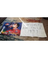 "PEPSI-NASCAR Vinyl banner ""Convergy's Road Rally 1999"" Large 95""x37"" - $59.39"