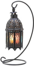 Gifts and Decor Rainbow Moroccan Ornate Candle Holder Lantern Stand - $49.00