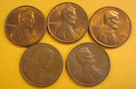 1976 Lincoln Memorial Pennies #8 - $3.50