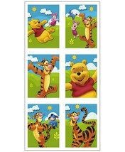 Pooh and Friends Party Favor Stickers 4 sheets Per Package Birthday Supp... - $1.93