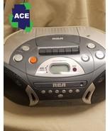 Vintage RCA RCD152 Portable CD/AM/FM/Radio/Cassette Boom Box - NEW - $30.00