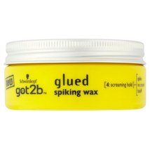 Schwarzkopf Got2b Glued Spiking Wax (75ml) - Pack of 6 - $58.40