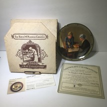 1985 Knowles A Family's Full Measure by Norman Rockwell - Collectible with COA - $20.85
