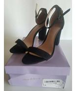 Madden Girl Women's Beella Dress Sandal, Black Fabric, 7.5 M US - $29.70