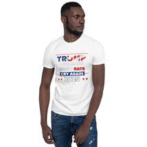 Lets Democrats Cry again Short-Sleeve Unisex T-Shirt Trump 2020 image 2
