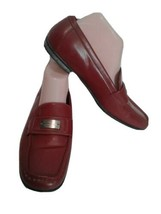 Coach Red Casual Women's Lora Flats Loafers Shoes Sz 9.5B (Used 3X) - $39.60