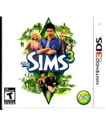 Nintendo 3DS  The Sims 3  - $32.95