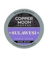 Copper Moon Sulawesi Origin, Dark Roast Coffee Pods Compatible with Keur... - $13.67