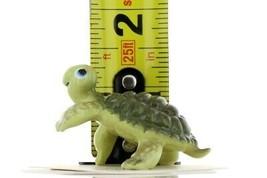 Hagen Renaker Miniature Turtle Smiley Ceramic Figurine image 2