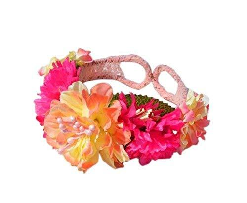1 Pair Of Popular Rose Red Flowers Beach Bracelets Lace Bracelets Jewelry