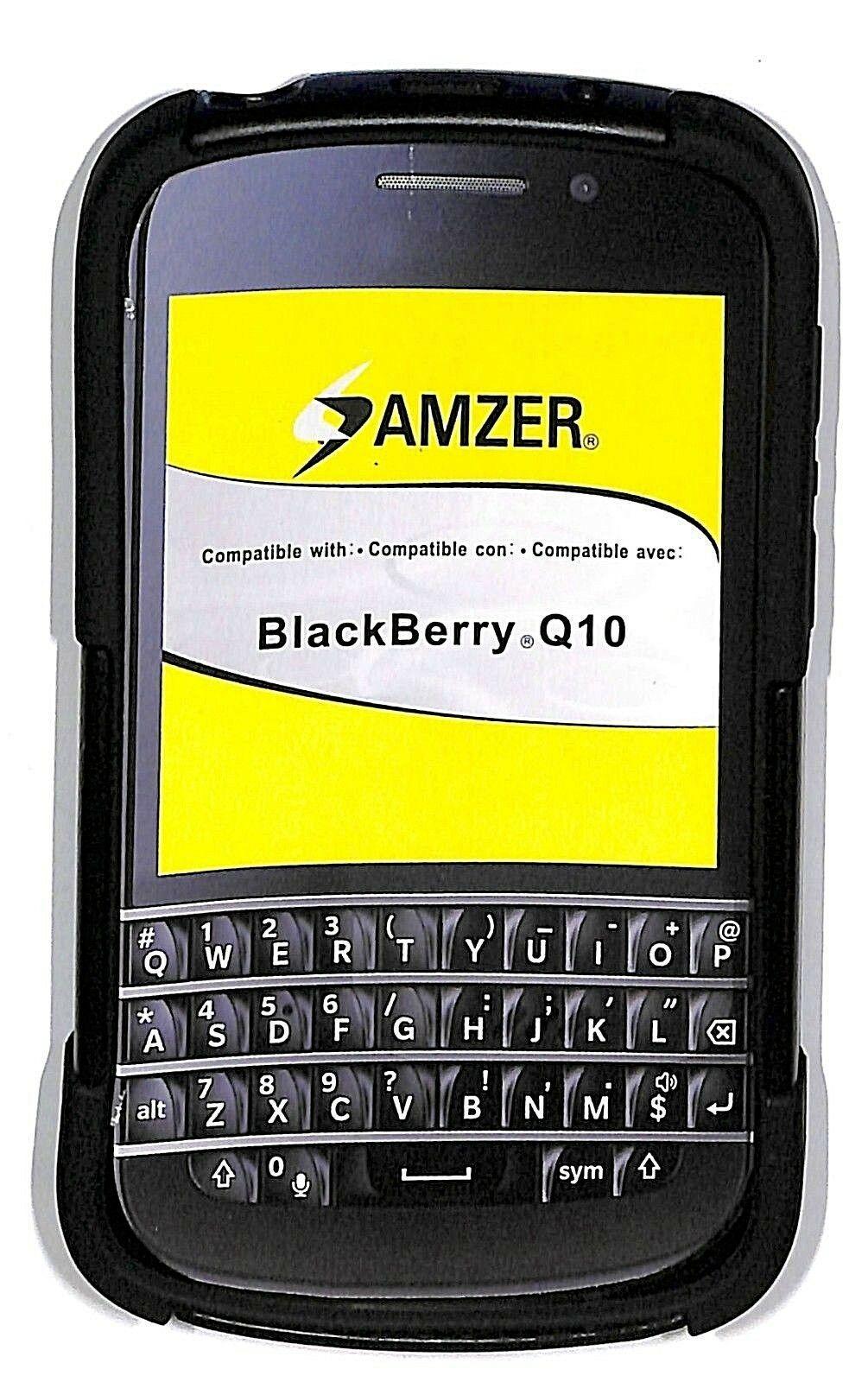 Amzer Hybrid Case Cover kickstand case for Blackberry Q10 - $4.95