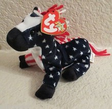 Ty Beanie Baby Lefty 6th Generation Hang Tag 2000 NEW - $5.93