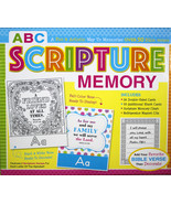 """ABC Scripture Memory Box Set Game """"I'm Learning The Bible"""" Flash Cards Kids - $13.24"""