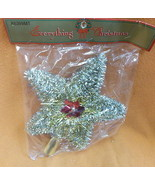 Misco Gold / Silver Country Silk Tinsel Tree Topper#X6399MT UPC:03146256... - $8.86
