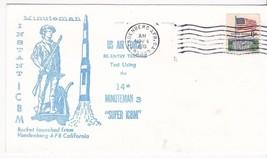 Usaf 14th Minuteman 3 Super Icbm Vandenebrg Afb Ca November 4 1970 - $1.98